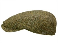 Wigens Ivy Contemporary Cap Schiebermütze aus Harris Tweed