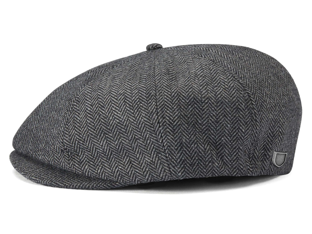 Brixton Brood Snap Cap 8 Panel Newsboy Flatcap