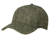 Stetson Plano Woolrich Herringbone Basecap aus Wolle
