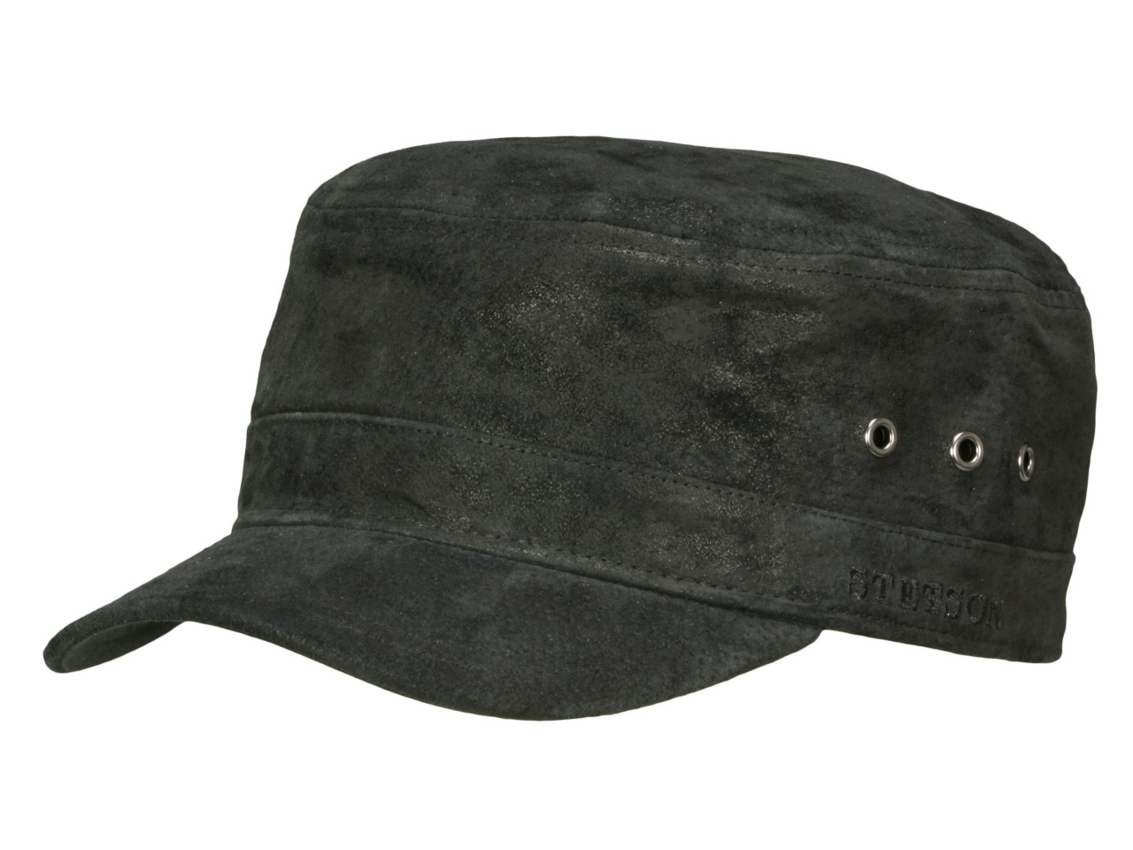 Stetson Raymore Pig Skin Armycap aus Leder