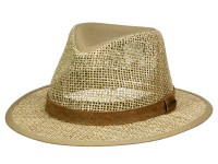 Stetson Medfield Seagrass Traveller Strohhut