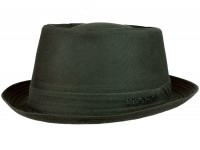 Stetson Athens Cotton Pork Pie Hat
