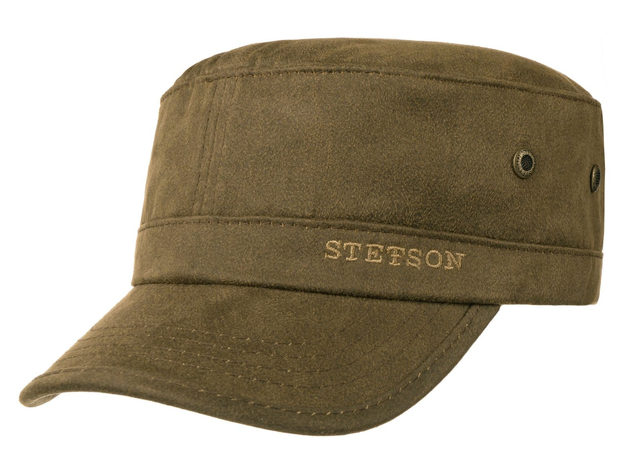 Stetson Army Cap CO/PES Military Cap in Veloursoptik