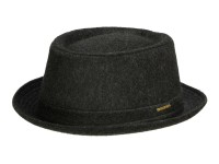 Stetson Pork Pie Wool Herrenhut aus Wollstoff