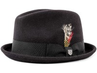 Brixton Gain Fedora Player Hut aus Wollfilz